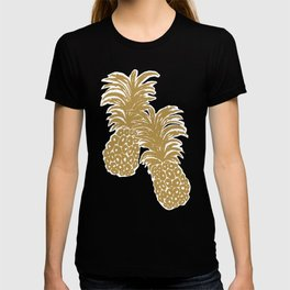 Gold Pineapples T-shirt