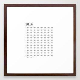 2014 BLACK FOUR Framed Art Print