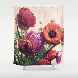 Ranunculus Shower Curtain