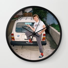Mac Demarco Italian Meme Wall Clock