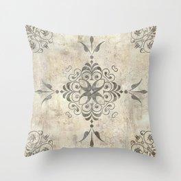 Fleurons VI Throw Pillow