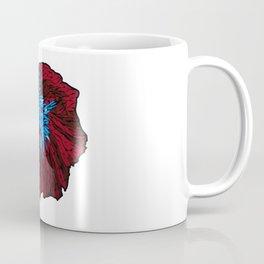 Betta Fighting Fish_Red Coffee Mug