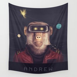 Star Team - Andrew Wall Tapestry