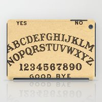 ouija iPad Cases featuring Ouija Board by Janismarika