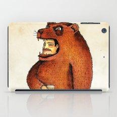 Oso pico tibio iPad Case