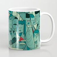 ghostbusters Mugs featuring Ghostbusters by Ale Giorgini