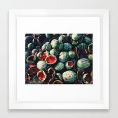 Watermelons Framed Art Print