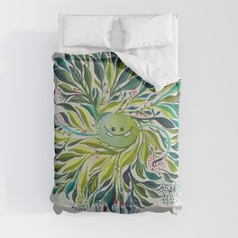 Poofy Asparagus Comforters