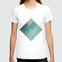 biology T-shirts featuring Fresh summer abstract background. Connecting dots, lens flare by AMULET
