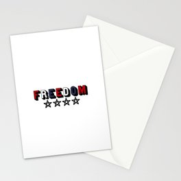 Independance USA Stationery Cards