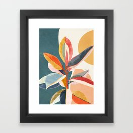 Colorful Branching Out 01 Framed Art Print