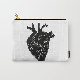 Black Heart II Carry-All Pouch