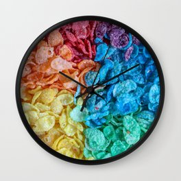 Fruity Pebbles I Wall Clock