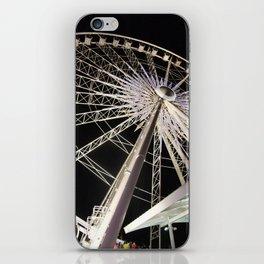 Wheeling Around iPhone Skin