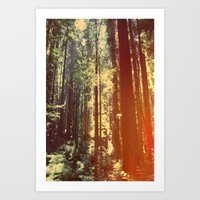 giants Art Prints featuring Giants by shellebaehner