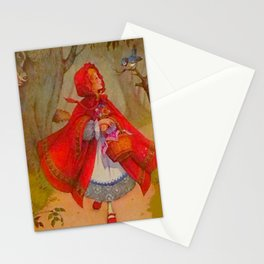 Le chaperon rouge Stationery Cards