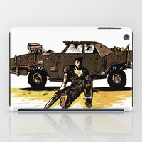mad max iPad Cases featuring MAD MAX by Gregory Casares