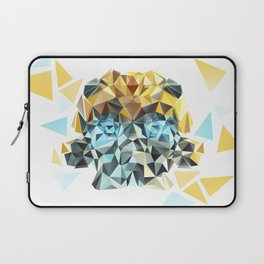 Bumblebee Low Poly Portrait Laptop Sleeve