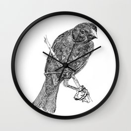 Lovely Bird Wall Clock