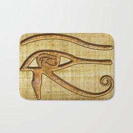The Wadjet - Ancient Egyptian Eye of Horus Bath Mat