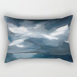 Lake Taupo, New Zealand Rectangular Pillow