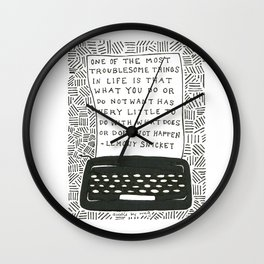 What Does Not Happen Wall Clock