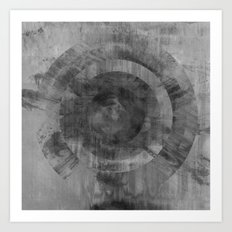 Circle Distortions #2 Art Print