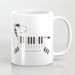 Life is like a piano Coffee Mug