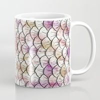 scales Mugs featuring Scales by Valerie C. Salmon