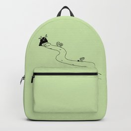 A road to east - Summer Backpack