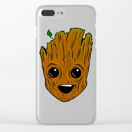Face.groot Clear iPhone Case