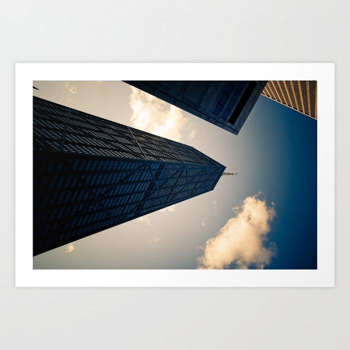 Hancock Tower Art Print