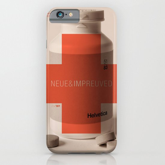 Neue Helvetica iPhone & iPod Case