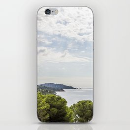 Seacoast near Le Lavandou and Bormes-les-Mimosas in French Riviera iPhone Skin