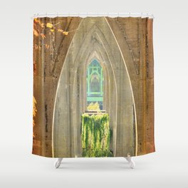 CATHEDRAL PARK ARCHES - ST. JOHNS Shower Curtain