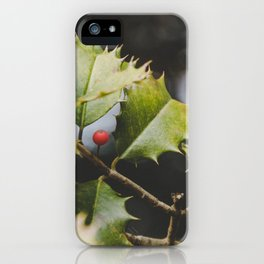 Haul Out The Holly iPhone Case