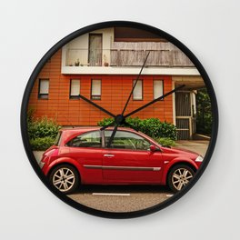 Renault Megane Coupe - The Remanent Gladiator Wall Clock