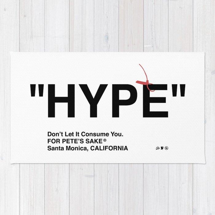 """""""HYPE"""" Rug"""