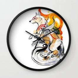 OKAMI AMATERASU I Wall Clock