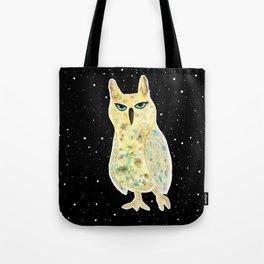 Intergalactic owl Tote Bag