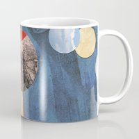 voyage Mugs featuring VOYAGE by cedar q waxwing