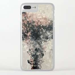 Scattered Thoughts Clear iPhone Case