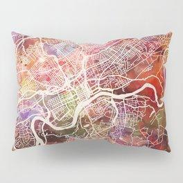 Knoxville map Pillow Sham