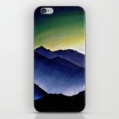 Mountain Landscape at Dusk iPhone & iPod Skin