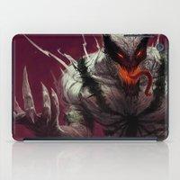 venom iPad Cases featuring Anti-Venom by MATT DEMINO