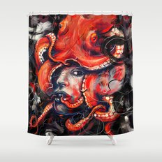 Empress Octo Shower Curtain