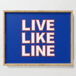 LIVE LIKE LINE Volleyball Serving Tray