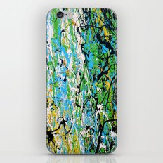 Echoed Splatter iPhone & iPod Skin