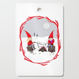 Snow and Stories Cutting Board