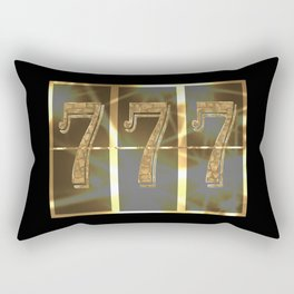 Wonderful picture as a gift for good luck! Rectangular Pillow
